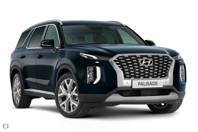 New Hyundai Palisade LX2.V1 MY21 Highlander AWD Nailsworth, 2020 Hyundai Palisade LX2.V1 MY21 Highlander AWD Moonlight Cloud 8 Speed Sports Automatic Wagon