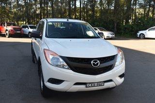 2015 Mazda BT-50 UP0YF1 XT 4x2 Hi-Rider White 6 Speed Manual Utility.
