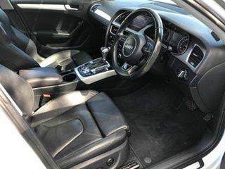 2014 Audi A4 B8 8K MY14 S Line Multitronic White 8 Speed Constant Variable Sedan