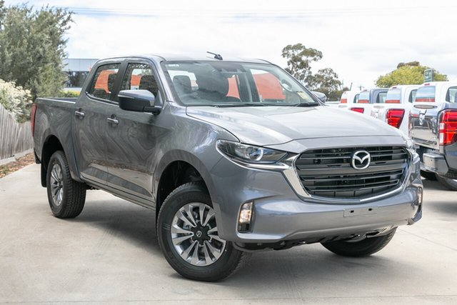 Demo Mazda BT-50 TFS40J XT Mornington, 2020 Mazda BT-50 TFS40J XT Concrete Grey 6 Speed Sports Automatic Cab Chassis