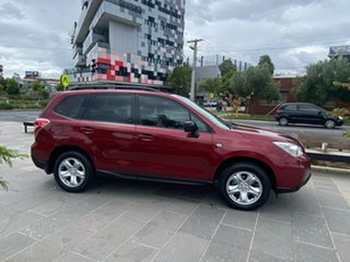 2014 Subaru Forester S4 MY14 2.5i Lineartronic AWD Red 6 Speed Constant Variable Wagon