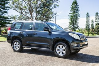 2010 Toyota Landcruiser Prado KDJ150R GXL Blue 5 Speed Sports Automatic Wagon.