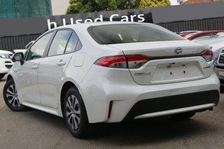 2019 Toyota Corolla ZWE211R SX E-CVT Hybrid White Pearl 10 Speed Constant Variable Sedan Hybrid.