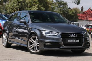 2015 Audi A3 8V MY15 Ambition Sportback S Tronic 7 Speed Sports Automatic Dual Clutch Hatchback.