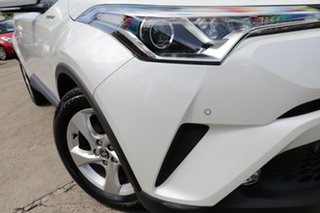 2019 Toyota C-HR NGX10R S-CVT 2WD Crystal Pearl 7 Speed Constant Variable Wagon.