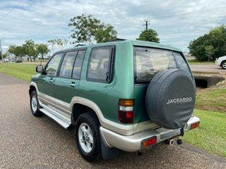 2000 Holden Jackaroo U8 MY00 SE Green 5 Speed Manual Wagon