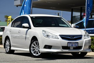 2012 Subaru Liberty B5 MY12 2.5i AWD Satin White Pearl 6 Speed Manual Sedan.