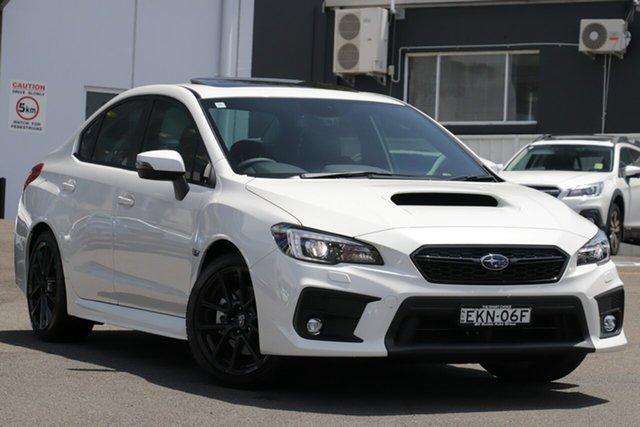 Demo Subaru WRX MY21 Premium (AWD) Brookvale, 2020 Subaru WRX MY21 Premium (AWD) Crystal White Pearl 6 Speed Manual Sedan