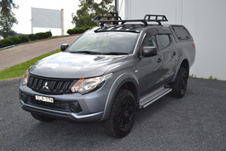 2016 Mitsubishi Triton MQ MY16 GLX Double Cab Titanium 5 Speed Sports Automatic Utility.