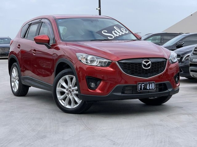 Used Mazda CX-5 KE1021 Grand Touring SKYACTIV-Drive AWD Liverpool, 2013 Mazda CX-5 KE1021 Grand Touring SKYACTIV-Drive AWD Red 6 Speed Sports Automatic Wagon