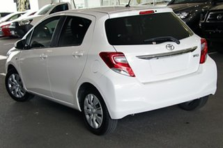 2016 Toyota Yaris NCP131R SX White 4 Speed Automatic Hatchback.