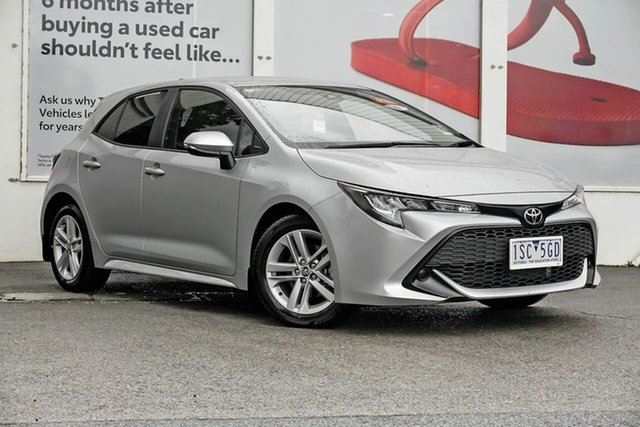 Pre-Owned Toyota Corolla Mzea12R Ascent Sport Ferntree Gully, 2020 Toyota Corolla Mzea12R Ascent Sport Silver Pearl 10 Speed Constant Variable Hatchback