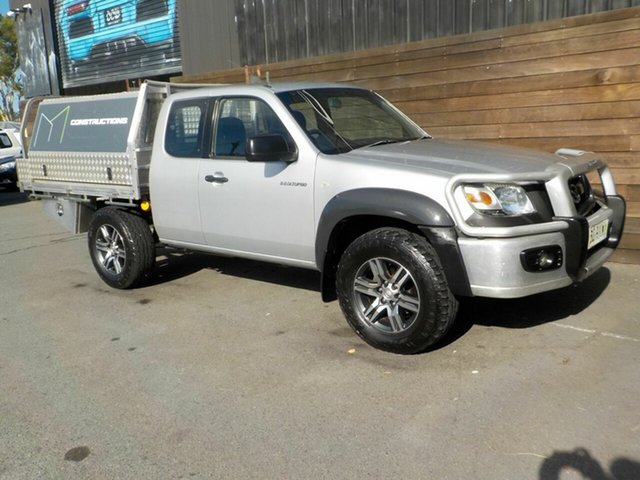 Used Mazda BT-50 UNY0E3 DX+ Freestyle 4x2 Labrador, 2008 Mazda BT-50 UNY0E3 DX+ Freestyle 4x2 Silver 5 Speed Manual Utility