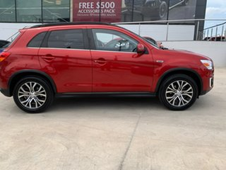 2015 Mitsubishi ASX XB MY15.5 XLS Red 6 Speed Sports Automatic Wagon.