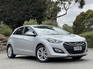 2014 Hyundai i30 GD2 MY14 Trophy Sleek Silver 6 Speed Sports Automatic Hatchback.