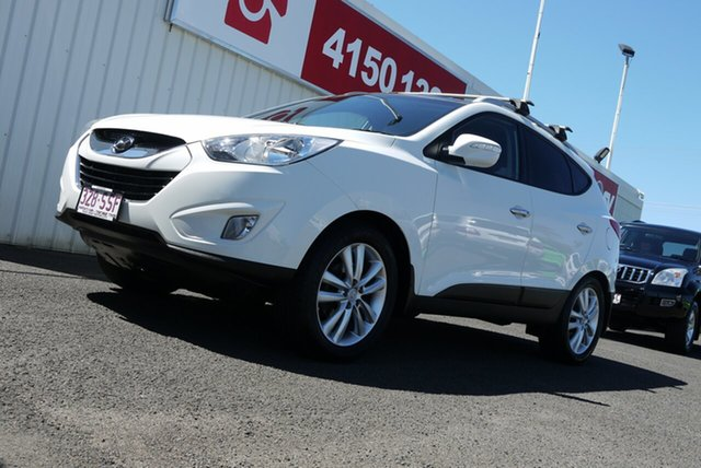 Used Hyundai ix35 LM MY12 Highlander AWD Bundaberg, 2012 Hyundai ix35 LM MY12 Highlander AWD White 6 Speed Sports Automatic Wagon