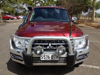 2017 Mitsubishi Pajero NX MY17 GLS Red 5 Speed Sports Automatic Wagon.