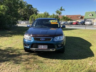 2010 Ford Territory SY MkII TS AWD Green 6 Speed Sports Automatic Wagon.