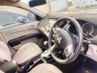 2014 Mitsubishi Triton MN MY15 GLX Double Cab 4x2 White 4 Speed Sports Automatic Utility