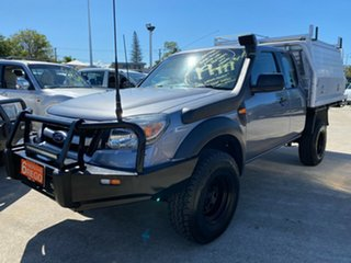 2010 Ford Ranger PK XL Grey 5 Speed Manual Cab Chassis.