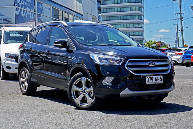Used Ford Escape ZG 2019.25MY Trend Springwood, 2019 Ford Escape ZG 2019.25MY Trend Black 6 Speed Sports Automatic Dual Clutch SUV