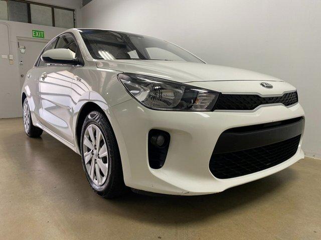 Used Kia Rio YB MY19 S Phillip, 2018 Kia Rio YB MY19 S White 4 Speed Automatic Hatchback