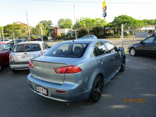 2007 Mitsubishi Lancer CJ VR Blue 6 Speed CVT Auto Sequential Sedan