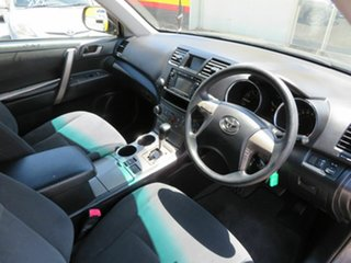 2009 Toyota Kluger GSU40R KX-R (FWD) 7 Seat Silver 5 Speed Automatic Wagon