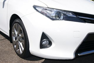2013 Toyota Corolla ZRE182R Levin SX White 6 Speed Manual Hatchback.