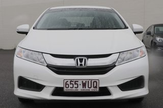 2016 Honda City GM MY16 VTi White 1 Speed Constant Variable Sedan