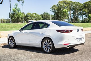 2020 Mazda 3 BP2SLA G25 SKYACTIV-Drive GT Pearl White 6 Speed Sports Automatic Sedan