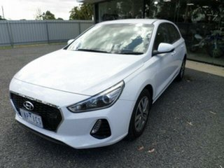2018 Hyundai i30 PD2 Update Active White 6 Speed Auto Sequential Hatchback