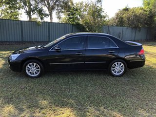 2006 Honda Accord 7th Gen V6 Luxury Black 5 Speed Automatic Sedan
