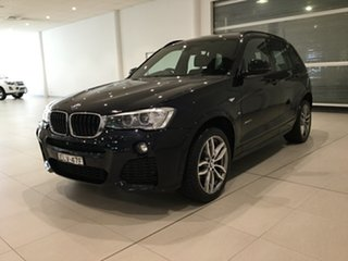 2015 BMW X3 F25 LCI MY0414 xDrive20i Steptronic Blue 8 Speed Automatic Wagon