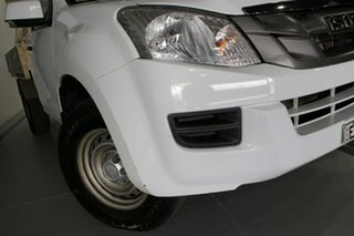 2014 Isuzu D-MAX TF MY12 SX (4x4) White 5 Speed Automatic Cab Chassis.
