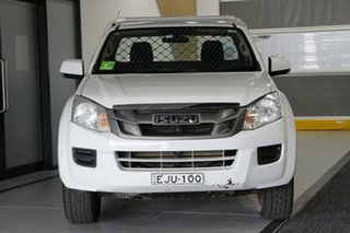 2014 Isuzu D-MAX TF MY12 SX (4x4) White 5 Speed Automatic Cab Chassis