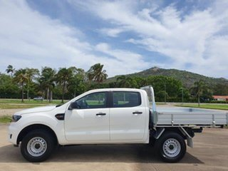 2020 Ford Ranger PX MkIII 2020.25MY XL Arctic White 6 Speed Sports Automatic Double Cab Pick Up