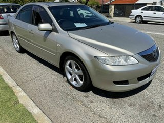 2002 Mazda 6 GG Classic Gold 4 Speed Auto Activematic Sedan