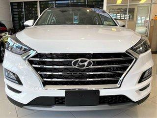 2020 Hyundai Tucson TL3 MY21 Highlander D-CT AWD Pure White 7 Speed Sports Automatic Dual Clutch.