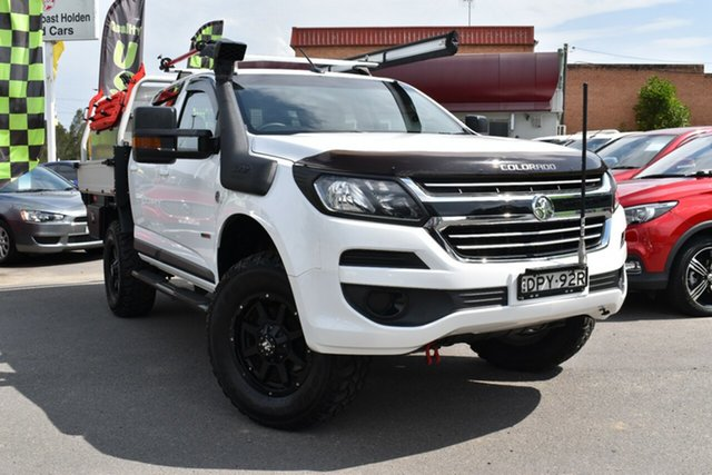 Used Holden Colorado RG MY17 LS Crew Cab Tuggerah, 2017 Holden Colorado RG MY17 LS Crew Cab White 6 Speed Sports Automatic Cab Chassis