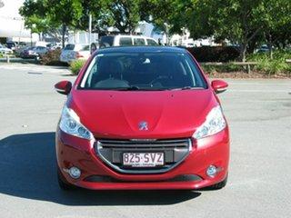 2012 Peugeot 208 Allure Premium Red 4 Speed Automatic Hatchback.