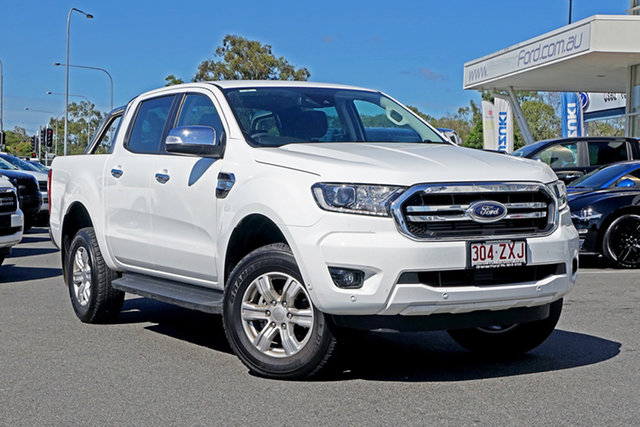 Used Ford Ranger PX MkIII 2020.25MY XLT Ebbw Vale, 2020 Ford Ranger PX MkIII 2020.25MY XLT White 6 Speed Sports Automatic Double Cab Pick Up