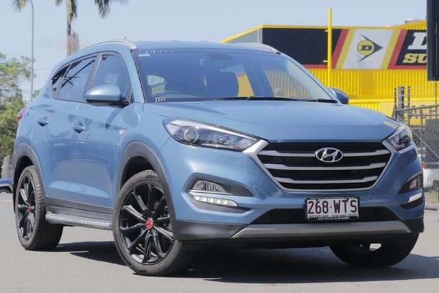 Used Hyundai Tucson TL MY17 30 D-CT AWD Special Edition Rocklea, 2016 Hyundai Tucson TL MY17 30 D-CT AWD Special Edition Ash Blue 7 Speed
