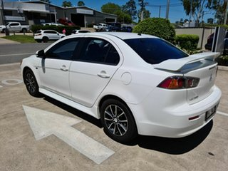 2014 Mitsubishi Lancer CJ MY14.5 ES Sport White 6 Speed Constant Variable Sedan
