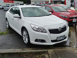 2016 Holden Malibu V300 MY15 CDX Snowflake White 6 Speed Sports Automatic Sedan.