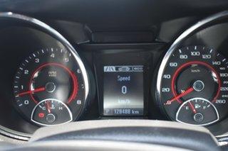 2016 Holden Commodore VF II MY16 SV6 Black Grey 6 Speed Sports Automatic Sedan