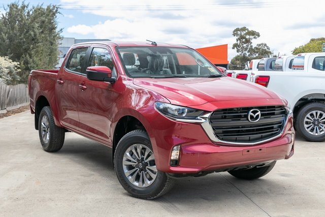 New Mazda BT-50 TFS40J XT Mornington, 2020 Mazda BT-50 TFS40J XT Red Volcano 6 Speed Sports Automatic Cab Chassis