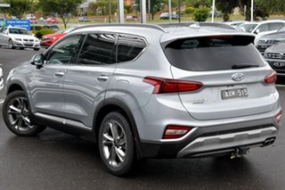 2018 Hyundai Santa Fe TM MY19 Highlander Silver 8 Speed Sports Automatic Wagon.