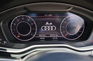 2018 Audi A4 B9 8W MY18 S Line S Tronic White 7 Speed Sports Automatic Dual Clutch Sedan