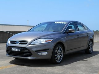2013 Ford Mondeo MC Zetec PwrShift EcoBoost Brown 6 Speed Sports Automatic Dual Clutch Hatchback